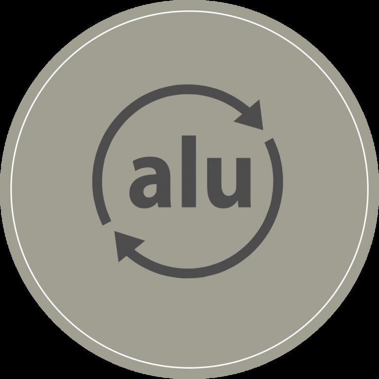 icone recyclage aluminium